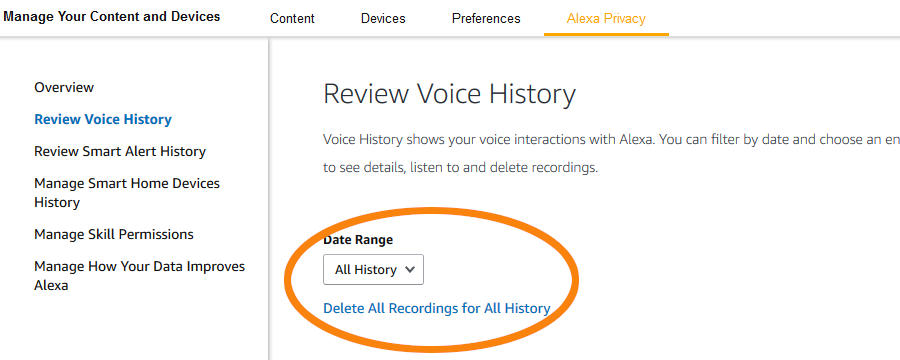How To Delete Alexa History – (With Pictures) – Smart Device